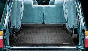 [WeatherTech 正規品] トヨタ ランクル80系 1989-1997年式 カーゴライナーカラー:ブラックカーゴトレイ・カーゴマット(ラゲッジ用ラバーマット/トランクマット)