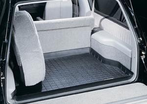 【Weather Tech直輸入正規品】Chevrolet Tahoe(シボレー タホ)2ドア 1995-1999年ウェザーテック カーゴライナーカラー:ブラックカーゴトレイ・カーゴマット(ラゲッジ用ラバーマット/トランクマット)