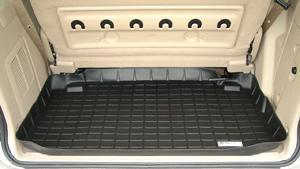 【Weather Tech直輸入正規品】Ford Windstar(フォード ウィンドスター)3列シート以降 1997-1998年ウェザーテック カーゴライナーカラー:ブラックカーゴトレイ・カーゴマット(ラゲッジ用ラバーマット/トランクマット)