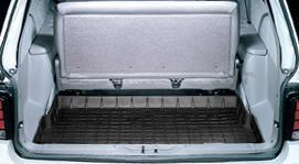 【Weather Tech直輸入正規品】Dodge Grand Caravan(ダッジ グランドキャラバン)3列以降 1991-1995年ウェザーテック カーゴライナーカラー:ブラックカーゴトレイ・カーゴマット(ラゲッジ用ラバーマット/トランクマット)