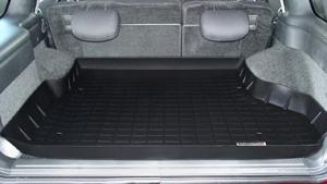 【Weather Tech直輸入正規品】Chevrolet Blazer (シボレー ブレイザー)4ドア 1995-2005年ウェザーテック カーゴライナーカラー:ブラックカーゴトレイ・カーゴマット(ラゲッジ用ラバーマット/トランクマット)