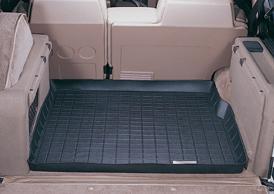 【Weather Tech直輸入正規品】Land Rover(ランドローバー)County / Classicショートホイール 1987-1995年ウェザーテック カーゴライナーカラー:ブラックカーゴトレイ・カーゴマット(ラゲッジ用ラバーマット/トランクマット)