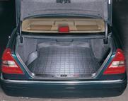 【Weather Tech直輸入正規品】Mercedes-Benz(メルセデスベンツ) C43 1999-2000年ウェザーテック カーゴライナーカラー:ブラックカーゴトレイ・カーゴマット(ラゲッジ用ラバーマット/トランクマット)