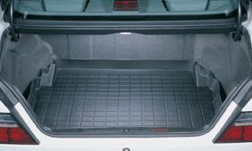 【Weather Tech直輸入正規品】Mercedes-Benz(メルセデスベンツ) 400E 1992-1993年ウェザーテック カーゴライナーカラー:ブラックカーゴトレイ・カーゴマット(ラゲッジ用ラバーマット/トランクマット)