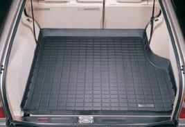 【Weather Tech直輸入正規品】Mercedes-Benz(メルセデスベンツ) E320 2列目以降ワゴン 1988-1993年ウェザーテック カーゴライナーカラー:ブラックカーゴトレイ・カーゴマット(ラゲッジ用ラバーマット/トランクマット)
