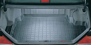 Mercedes-Benz (Mercedes-Benz) S420 1994-1999, WeatherTech cargo liner color: black cargo tray, cargo mat (rubber mat for luggage / trunk mats)