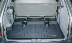 【Weather Tech直輸入正規品】Dodge GrandCaravan(ダッジ グランドキャラバン)3列目以降 1996-2000年ウェザーテック カーゴライナーカラー:ブラックカーゴトレイ・カーゴマット(ラゲッジ用ラバーマット/トランクマット)