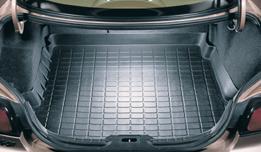 【Weather Tech直輸入正規品】Ford Taurus(フォード トーラス)セダン 1996-1999年ウェザーテック カーゴライナーカラー:ブラックカーゴトレイ・カーゴマット(ラゲッジ用ラバーマット/トランクマット)