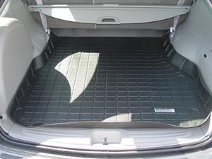 【Weather Tech直輸入正規品】Ford Taurus(フォード トーラス)ワゴン 1996-2006年ウェザーテック カーゴライナーカラー:ブラックカーゴトレイ・カーゴマット(ラゲッジ用ラバーマット/トランクマット)