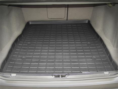 【Weather Tech直輸入正規品】BMW 530i 2001-2003年ウェザーテック カーゴライナーカラー:ブラックカーゴトレイ・カーゴマット(ラゲッジ用ラバーマット/トランクマット)