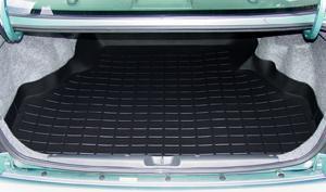 【Weather Tech直輸入正規品】HONDA Civic(ホンダ シビック)セダン 1996-2000年ウェザーテック カーゴライナーカラー:ブラックカーゴトレイ・カーゴマット(ラゲッジ用ラバーマット/トランクマット)