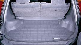 【Weather Tech直輸入正規品】HONDA (ホンダ) CR-V1997-2001年ウェザーテック カーゴライナーカラー:ブラックカーゴトレイ・カーゴマット(ラゲッジ用ラバーマット/トランクマット)