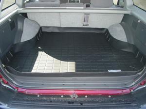【Weather Tech直輸入正規品】Mitsubishi Montero Sport(三菱 モンテロ) XLS/LTD2000-2004年ウェザーテック カーゴライナーカラー:ブラックカーゴトレイ・カーゴマット(ラゲッジ用ラバーマット/トランクマット)