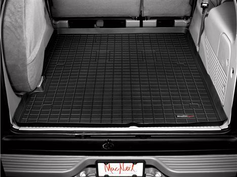 【Weather Tech直輸入正規品】Ford Excursion(フォード エクスカージョン) 2列目以降 2000-2005年ウェザーテック カーゴライナーカラー:ブラックカーゴトレイ・カーゴマット(ラゲッジ用ラバーマット/トランクマット)