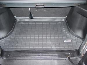 【Weather Tech直輸入正規品】Land Rover Freelander(ランドローバー フリーランダ-)5ドア 2002-2005年ウェザーテック カーゴライナーカラー:ブラックカーゴトレイ・カーゴマット(ラゲッジ用ラバーマット/トランクマット)