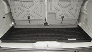【Weather Tech直輸入正規品】Isuzu Ascender (いすゞ アセンダー) 3列目以降 2003年-ウェザーテック カーゴライナーカラー:ブラックカーゴトレイ・カーゴマット(ラゲッジ用ラバーマット/トランクマット)