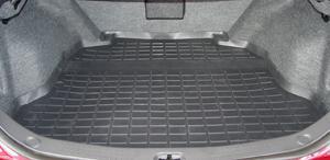 【Weather Tech直輸入正規品】Cadillac (キャデラック) CTS 2003-2007年ウェザーテック カーゴライナーカラー:ブラックカーゴトレイ・カーゴマット(ラゲッジ用ラバーマット/トランクマット)
