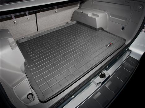 【Weather Tech直輸入正規品】TOYOTA 4Runner(トヨタ 4ランナー)3rdRowシートなし 2006-2009年2列目以降 ウェザーテック カーゴライナーカラー:ブラックカーゴトレイ・カーゴマット(ラゲッジ用ラバーマット/トランクマット)