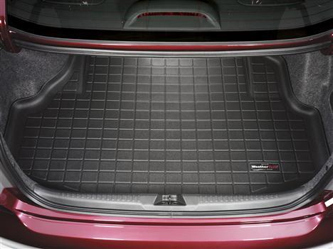 【Weather Tech直輸入正規品】Acura (アキュラ) TL 2004-2008年ウェザーテック カーゴライナーカラー:ブラックカーゴトレイ・カーゴマット(ラゲッジ用ラバーマット/トランクマット)