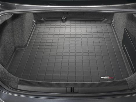 【Weather Tech直輸入正規品】VW (フォルクスワーゲン)GLI セダン2005.5年式以降ウェザーテック カーゴライナーカラー:ブラックカーゴトレイ・カーゴマット(ラゲッジ用ラバーマット/トランクマット)