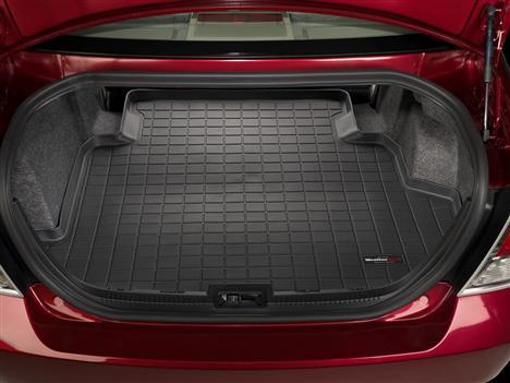 【Weather Tech直輸入正規品】Ford Fusion(フォード ヒュージョン)2006-2009年ウェザーテック カーゴライナーカラー:ブラックカーゴトレイ・カーゴマット(ラゲッジ用ラバーマット/トランクマット)