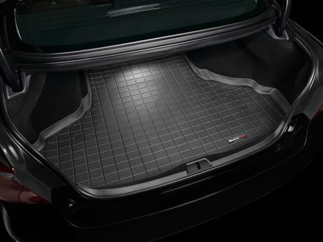 【Weather Tech直輸入正規品】Lexus(レクサス) LS460L 2007年式以降ウェザーテック カーゴライナーカラー:ブラックカーゴトレイ・カーゴマット(ラゲッジ用ラバーマット/トランクマット)