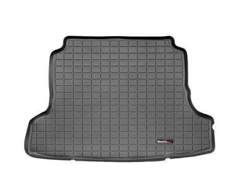 【Weather Tech直輸入正規品】Nissan Altima (日産 アルティマ)クーペ 2008-2012年ウェザーテック カーゴライナーカラー:ブラックカーゴトレイ・カーゴマット(ラゲッジ用ラバーマット/トランクマット)
