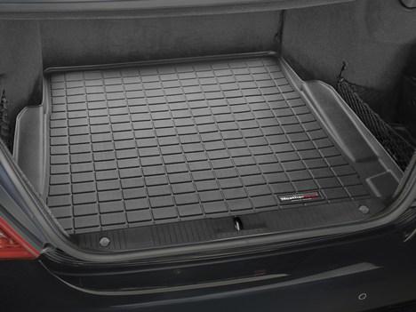 【Weather Tech直輸入正規品】Mercedes-Benz(メルセデスベンツ) SクラスW221 2008-2013年ウェザーテック カーゴライナーカラー:ブラックカーゴトレイ・カーゴマット(ラゲッジ用ラバーマット/トランクマット)
