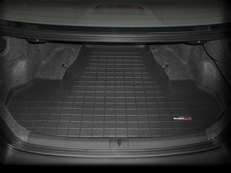 【Weather Tech直輸入正規品】Acura(アキュラ) TSX2009年式以降ウェザーテック カーゴライナーカラー:ブラックカーゴトレイ・カーゴマット(ラゲッジ用ラバーマット/トランクマット)