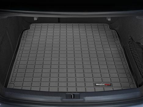 [WeatherTech 正規品] Audiアウディ A4/S4/RS4 セダン 2009-2013年 カーゴライナー カーゴトレイ カーゴマット ブラック