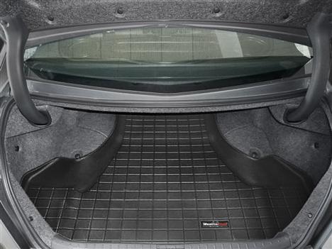 【Weather Tech直輸入正規品】Acura(アキュラ) TL FWD 2009年式以降ウェザーテック カーゴライナーカラー:ブラックカーゴトレイ・カーゴマット(ラゲッジ用ラバーマット/トランクマット)