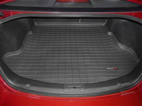 【Weather Tech直輸入正規品】Mazda(マツダ) MAZDA6 2009年式以降(アテンザ)ウェザーテック カーゴライナーカラー:ブラックカーゴトレイ・カーゴマット(ラゲッジ用ラバーマット/トランクマット)