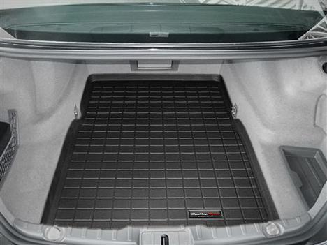 【Weather Tech直輸入正規品】BMW 7シリーズ2009年式以降ウェザーテック カーゴライナーカラー:ブラックカーゴトレイ・カーゴマット(ラゲッジ用ラバーマット/トランクマット)