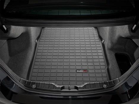 [WeatherTech 正規品]BMW 5シリーズ F10型 セダン 2009-2016年式2列目以降 カーゴマット/トランクマット ブラック
