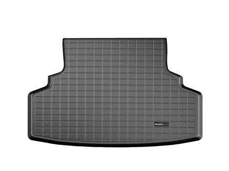 【Weather Tech直輸入正規品】SUBARU スバルImpreza インプレッサ 2011年式以降 現行G4に適合ウェザーテック カーゴライナーカラー:ブラックカーゴトレイ・カーゴマット(ラゲッジ用ラバーマット/トランクマット)