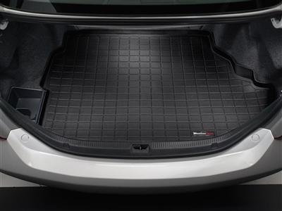 【Weather Tech直輸入正規品】Jaguar (ジャガー) XJシリーズ 2011-2013年ウェザーテック カーゴライナーカラー:ブラックカーゴトレイ・カーゴマット(ラゲッジ用ラバーマット/トランクマット)