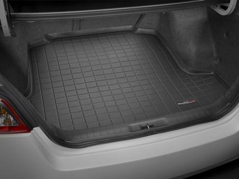 【Weather Tech直輸入正規品】Nissan Altima(日産 アルティマ)2013年式以降ウェザーテック カーゴライナーカラー:ブラックカーゴトレイ・カーゴマット(ラゲッジ用ラバーマット/トランクマット)
