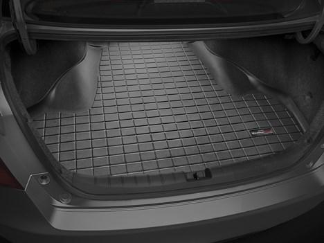 【Weather Tech直輸入正規品】HONDA Accord(ホンダ アコード)セダン 2013年式以降ウェザーテック カーゴライナーカラー:ブラックカーゴトレイ・カーゴマット(ラゲッジ用ラバーマット/トランクマット)