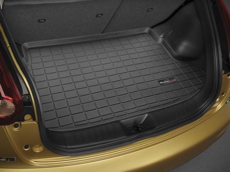 【Weather Tech直輸入正規品】Nissan Juke 日産 ジューク2010年式以降 現行(サブウーファー有り車両用)ウェザーテック カーゴライナーカラー:ブラックカーゴトレイ・カーゴマット