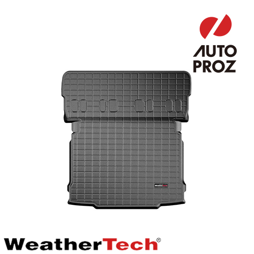 [WeatherTech 正規品] シュコダ イエティ 2009-2018年式 カーゴマット/トランクマット ブラック