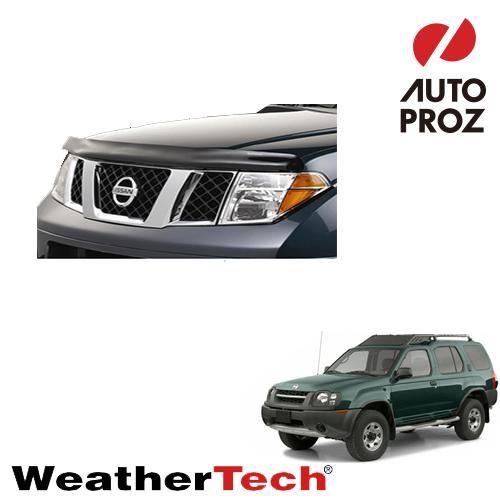 [WeatherTech 正規品] Weather Tech 日産 エクステラ 2000-2001年 フロンティア 1998-2000年 フッドプロテクター/バグガード