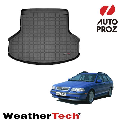 [WeatherTech 正規品] ボルボ V40 1995-2004年式 カーゴトレイ ブラック