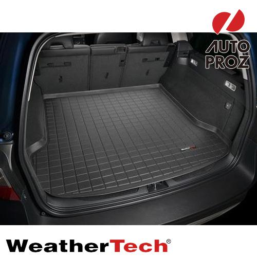 [WeatherTech 正規品] Volvo(ボルボ) V70 2008年式以降ウェザーテック カーゴライナーカラー:ブラックカーゴトレイ・カーゴマット(ラゲッジ用ラバーマット/トランクマット)