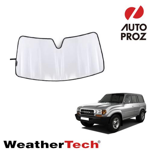 車用サンシェード カーサンシェード フロントガラス WeatherTech 正規品 無料 1989-1997年式 ランクル80系 サンシェード トヨタ 激安