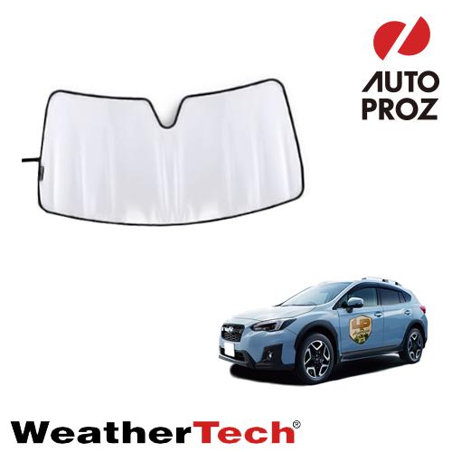 車用サンシェード カーサンシェード フロントガラス WeatherTech 正規品 GT型 XV 送料無料カード決済可能 2017年式以降現行 サンシェード スバル 出色