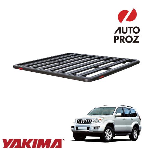 [YAKIMA 正規品] トヨタ ランドクルーザープラド 120系 2002-2009年 ロックンロードE ベースキャリアセット ルーフラック/フラットラック ※2130x1230mm・3バー