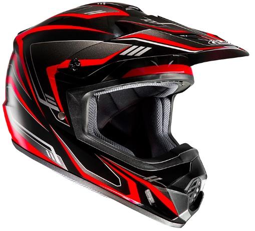 HJC HJH123 XLサイズ CS-MX2 EDGE ブラック/レッド