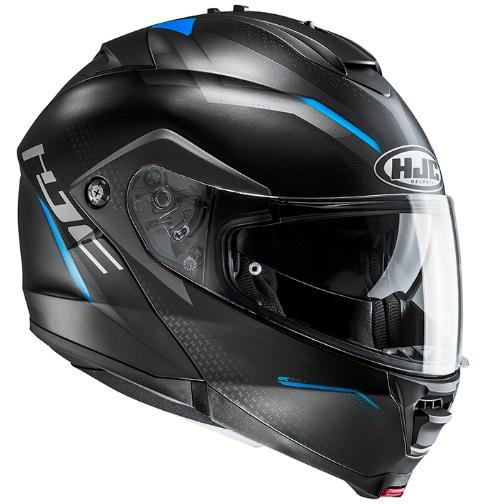 HJC HJH151 Lサイズ ブラック/ブルー IS-MAX2 DOVA ドーバ