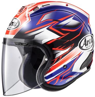 アライ (ARAI) ジェットタイプヘルメット VZ-RAM ゴースト ブルー 57-58cm