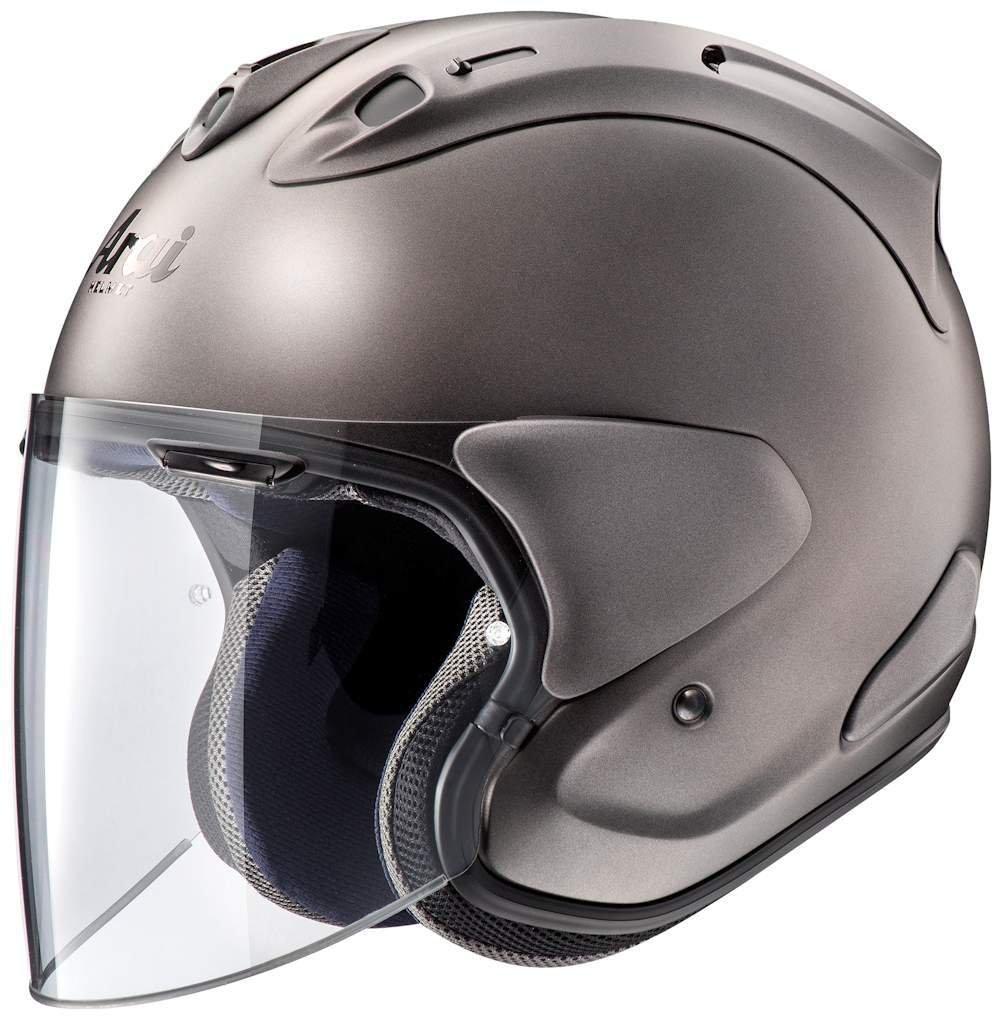 アライ (ARAI) ジェットヘルメット VZ-RAM (VZ-ラム) エムジーグレー (つや消し) 57-58cm